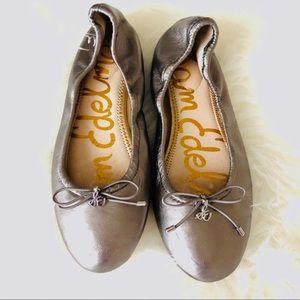 Sam Edelman Felicia grey ballet flats